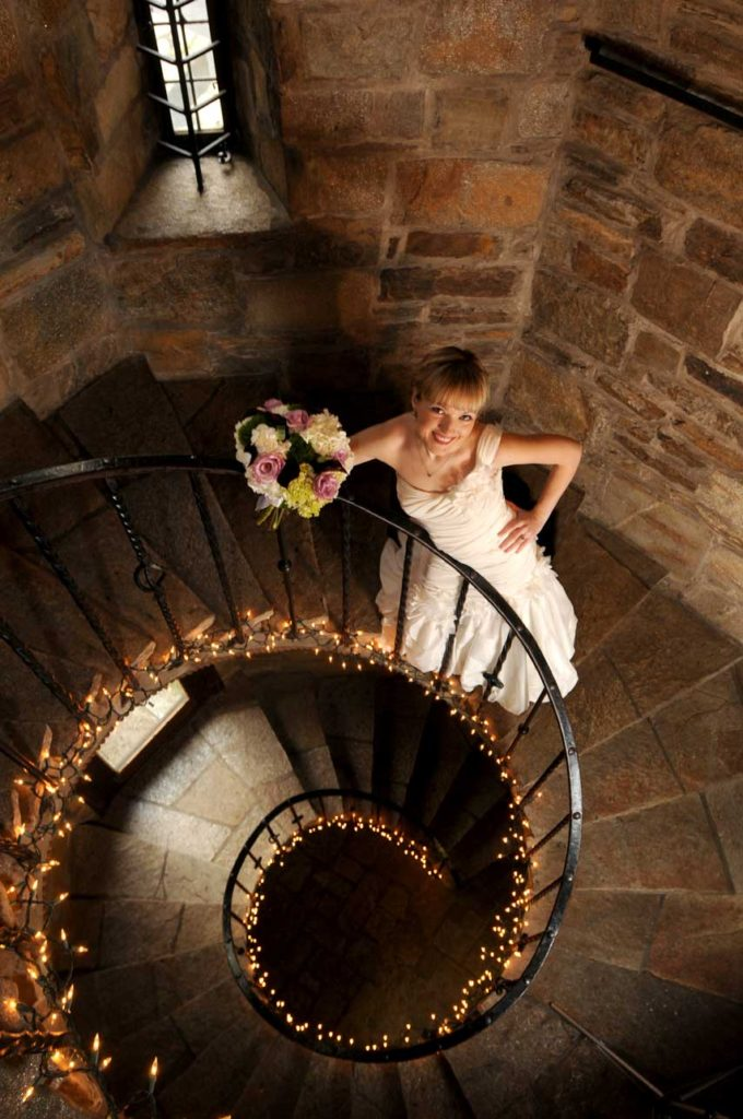 Cloisters Castle Bride
